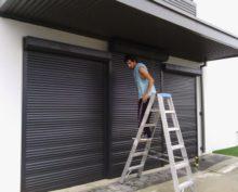 roller shutter installation