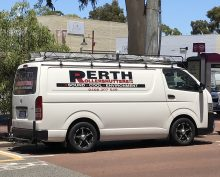 Perth Roller Shutters Service Van