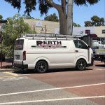 Service van in Perth